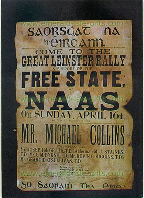 The Road To Independence - Free State Rally Poster Michael