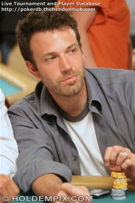 Ben Affleck: Hendon Mob Poker Database