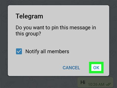 How to Pin Telegram Messages on Android: 6 Steps (with