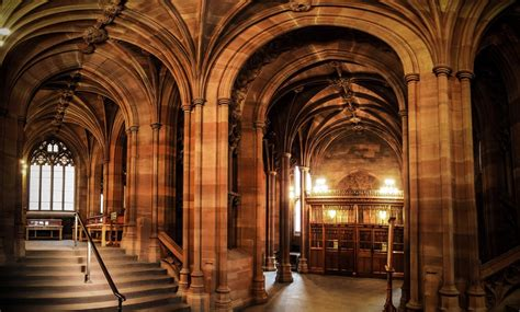 John Rylands Library - Public Building in Manchester