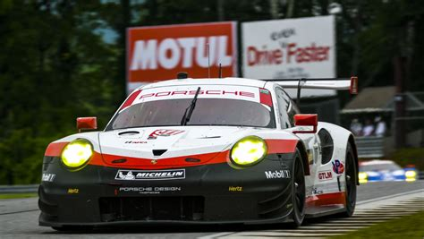 First win for the new Porsche 911 RSR