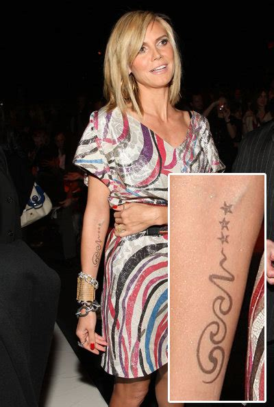 Heidi Klum Tattoo Meaning
