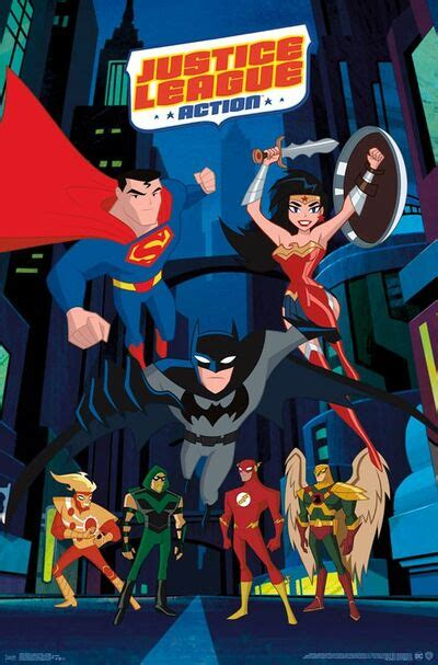Justice League Action - Best TV Shows Wiki