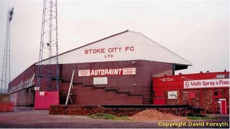 Boothen End at the Victoria Ground Stoke City FC
