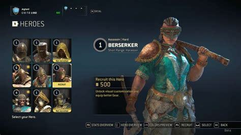 How to play Berserker? - For Honor Game Guide