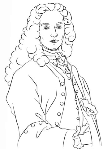 Voltaire coloring page | Free Printable Coloring Pages