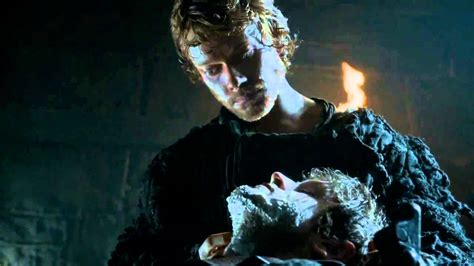 Game of Thrones S04E02 - Roose Bolton, Ramsay and Theon at