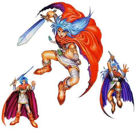 Breath of Fire Fiche RPG (reviews, previews, wallpapers