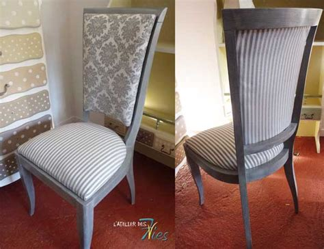 Chaise relookée   7vies