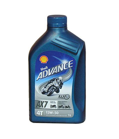 Shell - Advance 4T Semi Synthetic - AX7 10W 40 (1 Litre