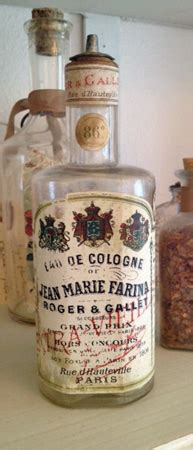 Paris Perfume French Antique Bottle Collectibles Roger And