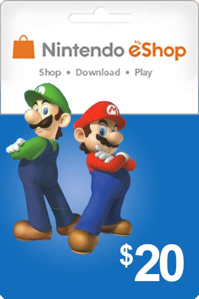 Cheapest Nintendo 20 USD Codes in USA | cheapestgamecards